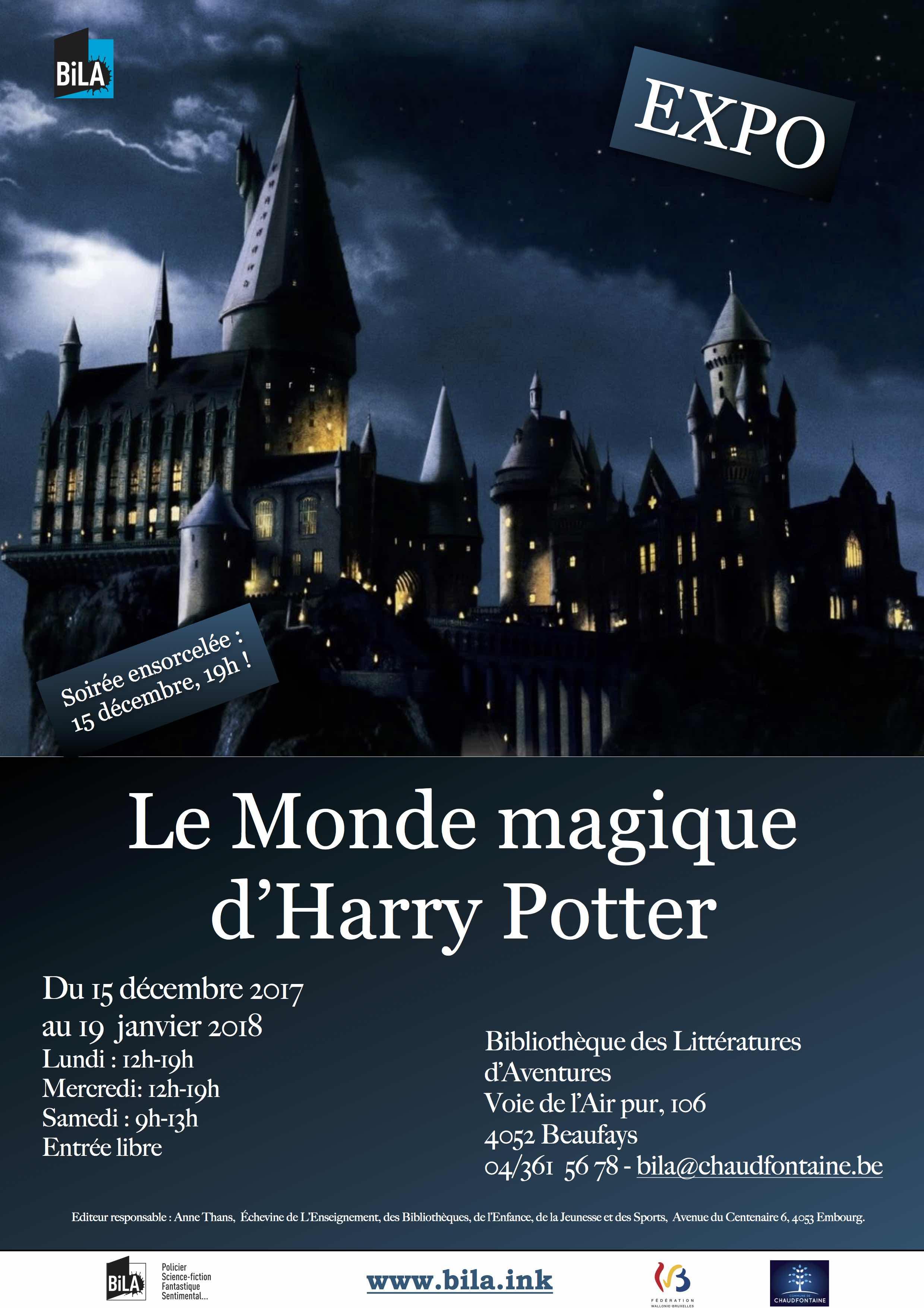 Le Monde magique d'Harry Potter !