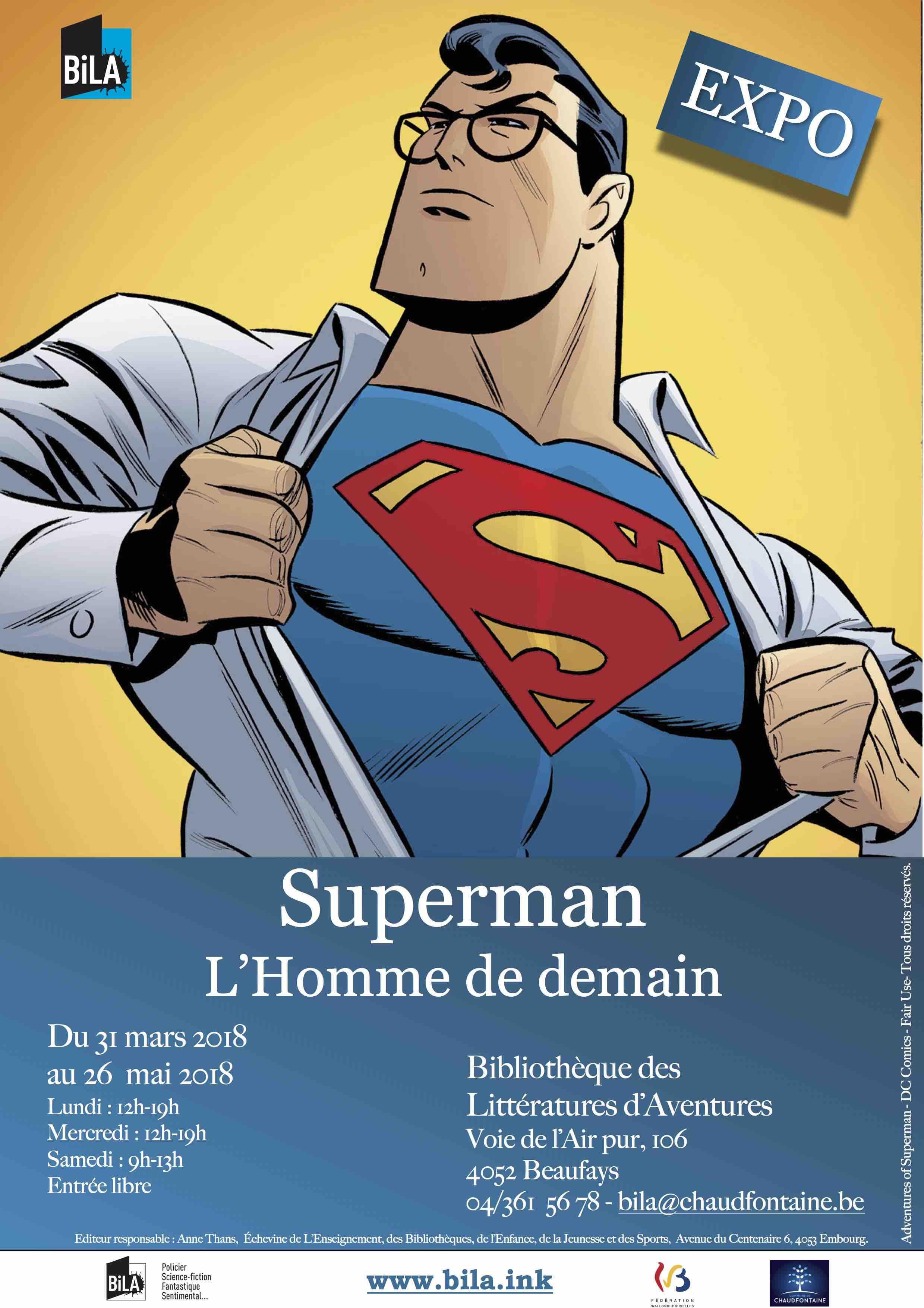 Exposition : Superman, l'homme de demain