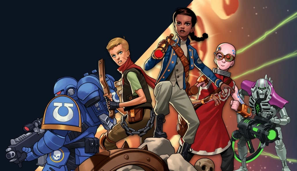 """Warhammer Adventures"": du jeu au roman"